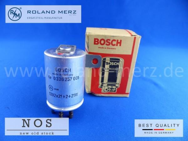 Blinkrelais Bosch 0336257001, 12V Mercedes Benz W115