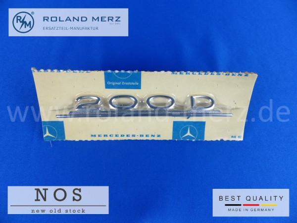 110 817 01 14 Typenkennzeichen innen an Armaturenbrett Mercedes 200 D
