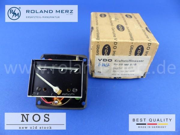 Kraftstoffmesser VDO 30.000.15/3/2 6 Volt Ausführung 000 542 26 03 für Mercedes 180