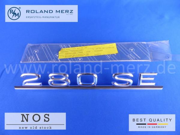 116 817 01 15 Mercedes Typenkennzeichen auf Heckdeckel 280 SE original Neuteil/NOS