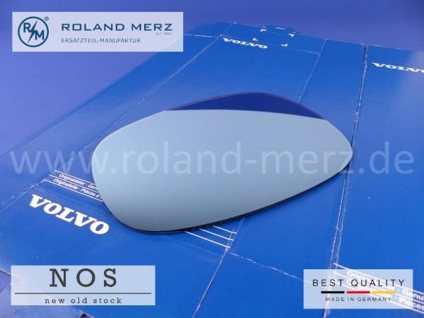 Original Volvo Spiegelglas blaugetönt für Außenspiegel