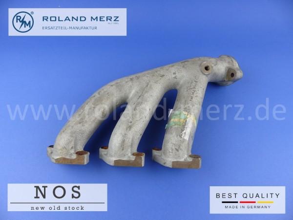 Auspuffkrümmer Mercedes 110 142 80 02 Neuteil NOS Zylinder 1-3 M110, W116, W123, W126