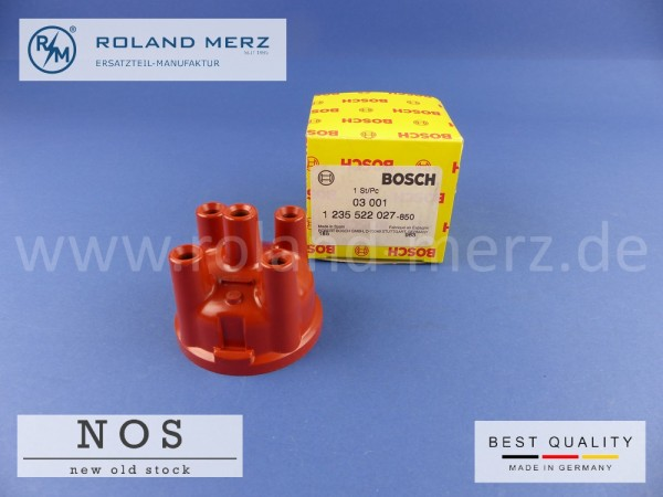 Zündverteilerkappe Bosch 1 235 522 027 / ZVS 74Z 6Z für Peugeot 204, 304, 404, 504, 505 & Renault 12