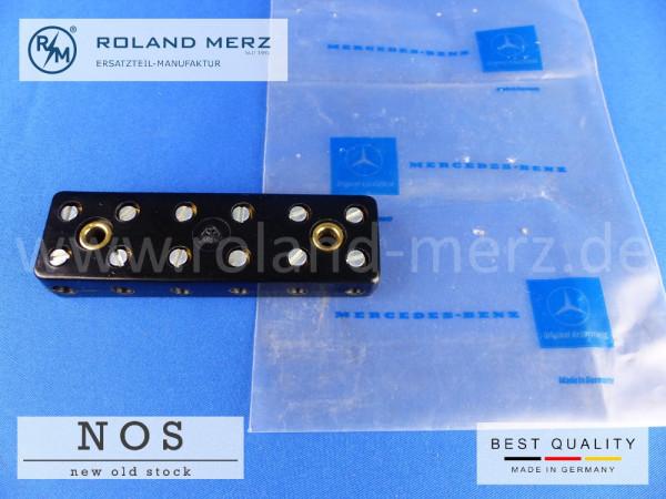 Bakelit Kabelverbinder 6polig Bremi 10355, Mercedes Vergl.-Nr. 000 546 16 41, 170 V - 220, 190SL, 300, b, c, S, Sc, SL Ro.