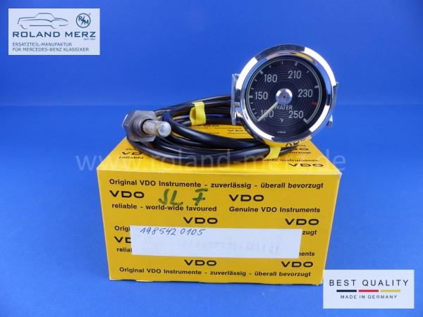 Kühlwasserfernthermometer 52mm original Neuteil VDO mit englischer Beschriftung