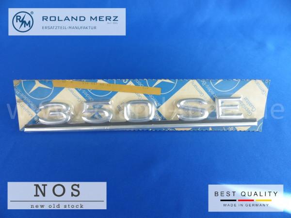 116 817 02 15 Mercedes Typenkennzeichen auf Heckdeckel 350 SE original Neuteil/NOS