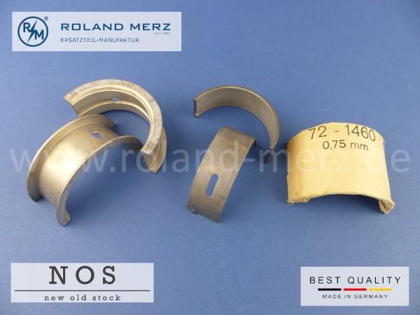Satz Kurbelwellenlager 0,50mm Mercedes 121 030 06 40 (121 586 18 03) für 180 - 190SL, M 121