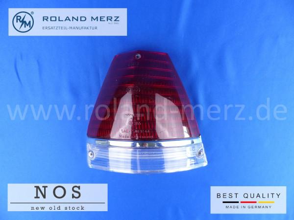 Rücklichtdeckel rechts Hella NOS Europa Ausf. mit roter Blinkleuchte Mercedes Vergl.-Nr. 110 826 10