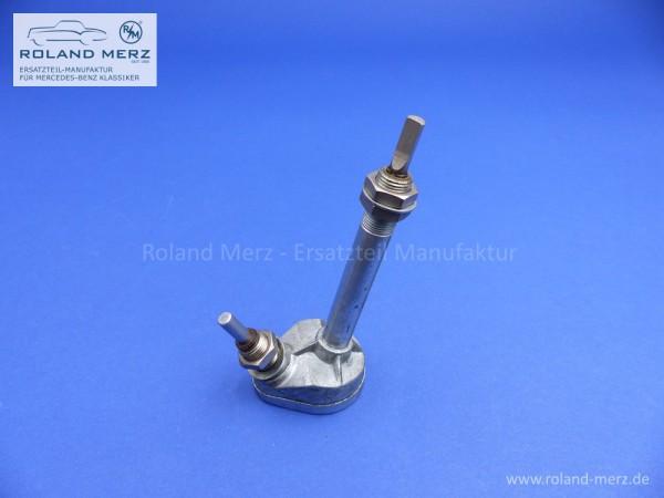 Neues originales Wischergetriebe für Mercedes 170S, Cab. B verstärkte Ausführung mit 12 mm Gewinde