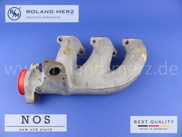 Auspuffkrümmer Mercedes 110 142 91 02 Neuteil NOS Zylinder 1-3 M110, W126 280S, SE, SEL, G-Klasse W460 280GE