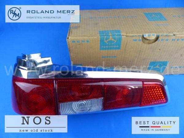 Deckel für Rücklicht links rot / rot NOS Mercedes 110 820 07 66 für 190C - 200DC, 220b