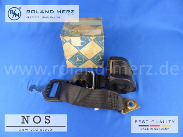 123 860 55 85 Sicherheitsgurt ohne Verschluss für Fahrersitz Mercedes W 123 200 – 280E, 230 C – 280 CE, W 126 280S, SE, SEL, 380 SE, SEL, 500 SE, SEL, 300SD Turbodiesel Original MB-Neuteil NOS