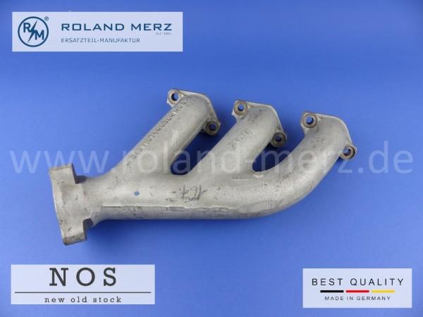 Auspuffkrümmer Mercedes 110 142 80 02 Neuteil NOS Zylinder 1-3 M110, W114 /8, W116 280S, W107 280SL
