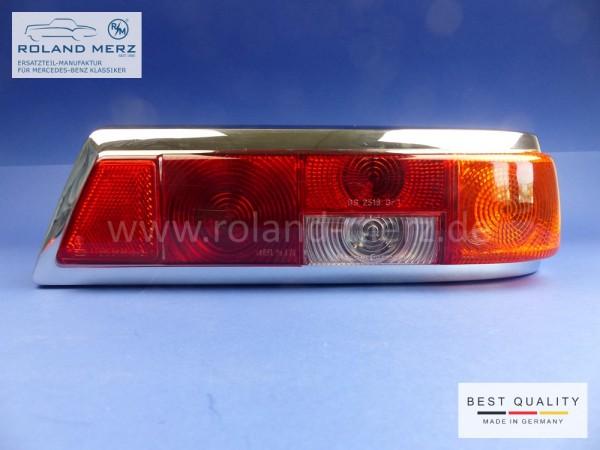 Original Hella Heckleuchte rechts komplett mit Lampenträger für Mercedes