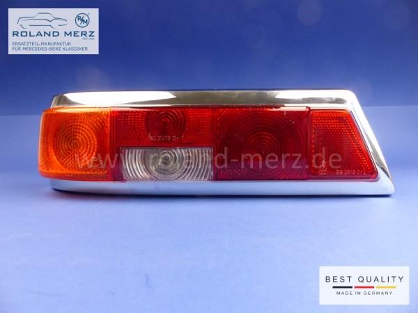 Original Hella Heckleuchte links komplett mit Lampenträger für Mercedes