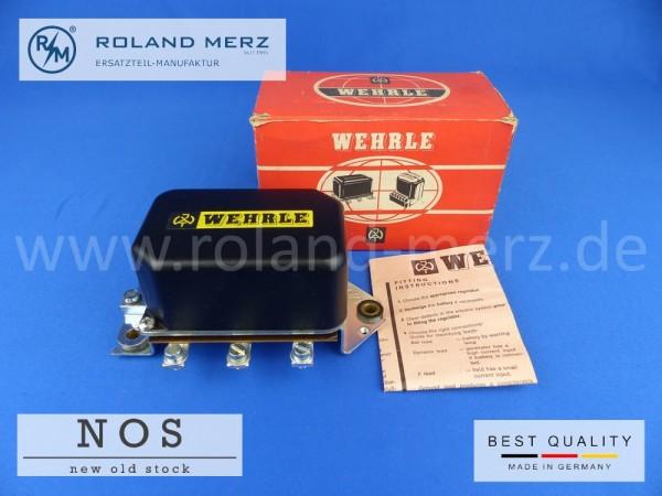 Wehrle Regler, Bosch Vergl.-Nr. 0 190 309 018 für BMW 503, 507 und 3200CS 12Volt 200 Watt