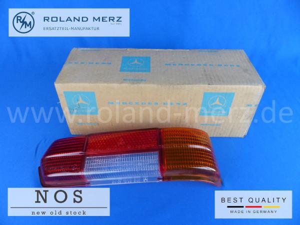 108 826 16 56 Lichtscheibe für Rücklicht rechts für Mercedes alle BM 300SEL 3.5 und 6.3