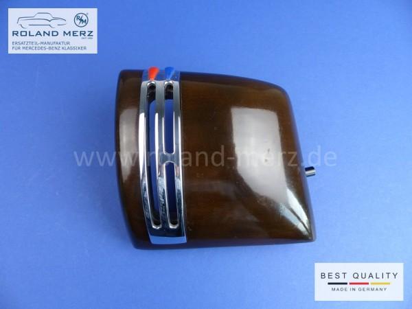 Holzverkleidung Armaturenbrett rechts 180 680 02 83 mit Chromeinfassung für Mercedes Ponton 220S und 220SE