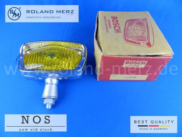 Bosch NOS Nebelscheinwerfer 0 305 250 006 für Mercedes 190SL und Porsche 356 vollverchromt mit gelbe