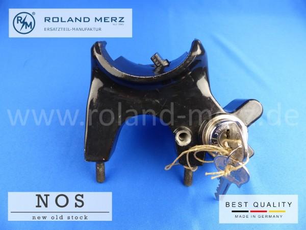 Zündschloss (Lenksäulenhalter mit Schloss) Rechtslenker Mercedes 120 460 10 37 für 180a, b, c, 190,