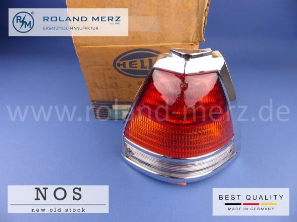 Rückleuchte rechts Orange komplett 110 820 28 64 Mercedes W110 W111 Kombi