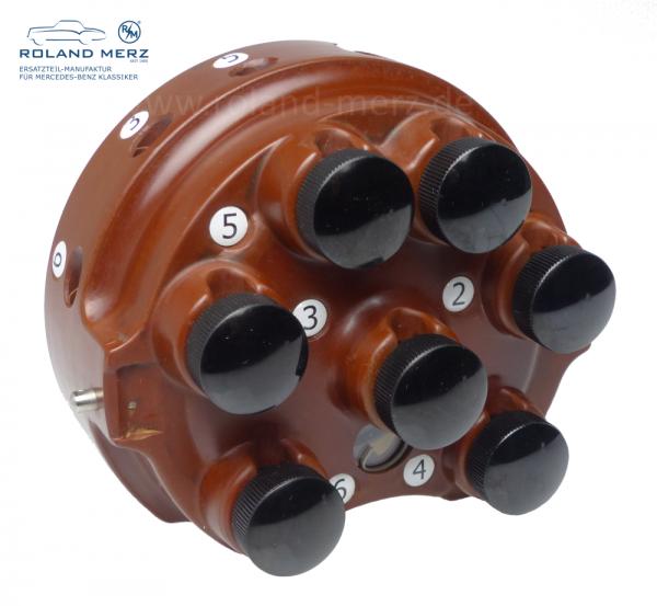 Zündverteilerkappe für ZR6 - ZA 27789 - 6-Zylinder aus Bakelit