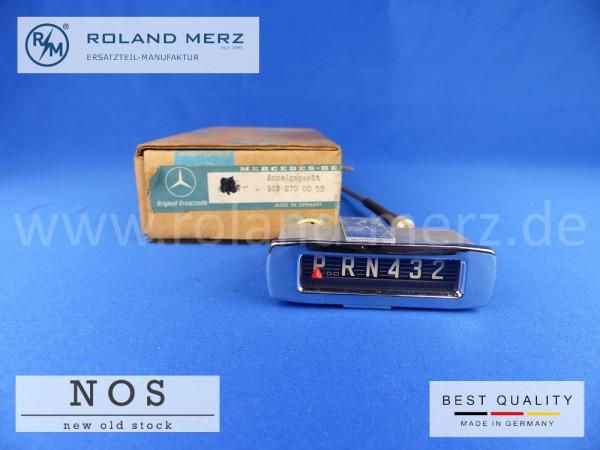 Ganganzeigegerät 112 270 00 52 für Mercedes alle Bm 110, 220b, Sb, SEb/Cp, SEB/Cb, 230S
