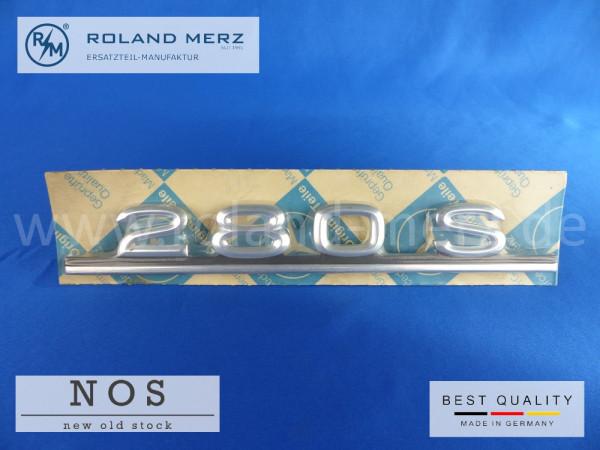 116 817 00 15 Mercedes Typenkennzeichen auf Heckdeckel 280 S original Neuteil/NOS