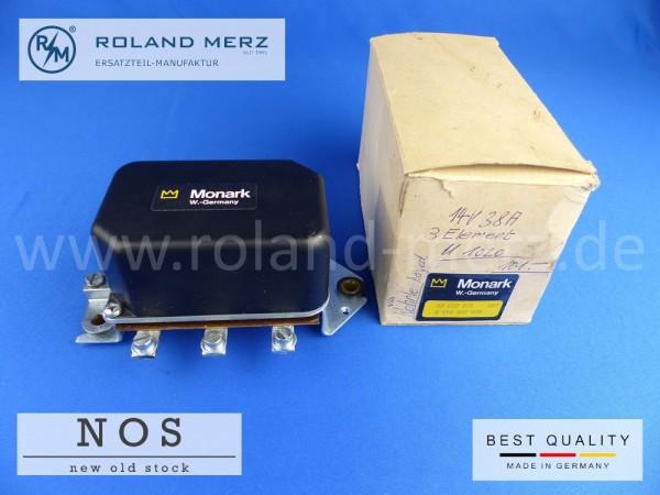 Lichtmaschinenregler 14 Volt 38 Amp. Wehrle W 117 KB/Monark, Bosch Vergl.-Nr. 0 190 309 005
