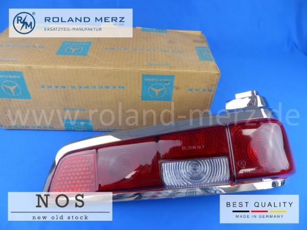 Deckel für Rücklicht rechts rot / rot NOS Mercedes 110 820 08 66 für 190C - 200DC, 220b