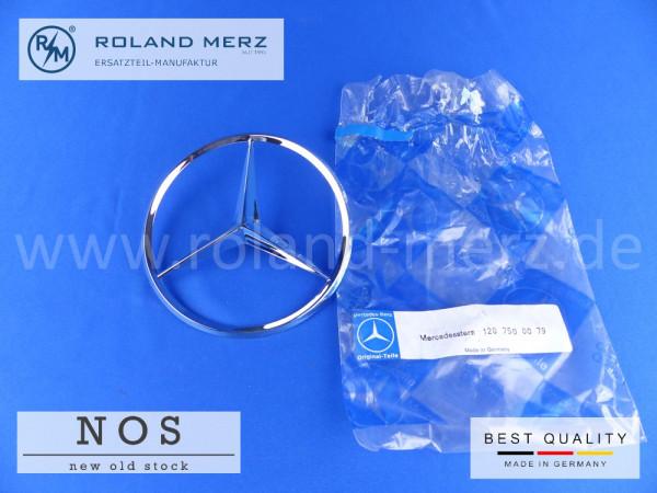 Mercedes Heckdeckelstern 120 750 00 79 Original MB-Neuteil für Mercedes 180 - 220SE