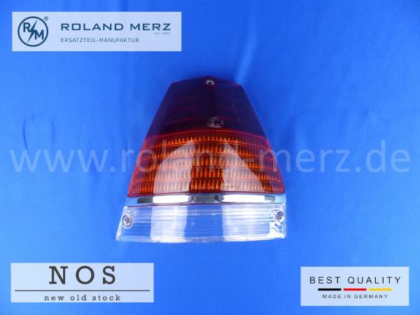 Rücklichtdeckel links Hella Europa Ausf. mit gelber Blinkleuchte, Mercedes 110 826 01 56