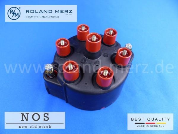 Verteilerkappe Bosch 0 290 004 501 mit schw. Abschirmhaube aus leitf. Kunststoff