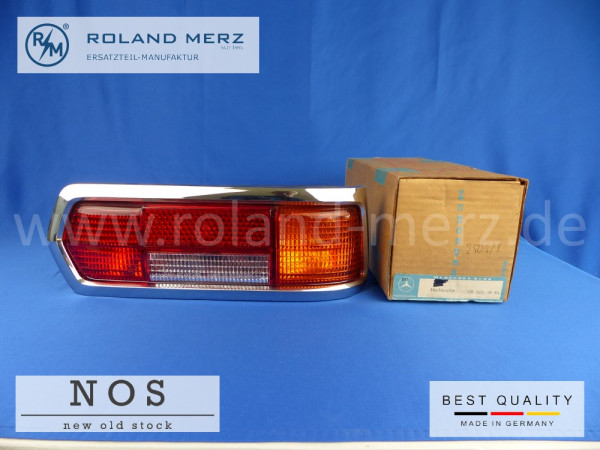 Rückleuchte kompl. rechts Mercedes 108 820 16 64 (E. 01 64) für MB 250S,SE, 280S, SE, SEL, 300SEL, alle Bm 109