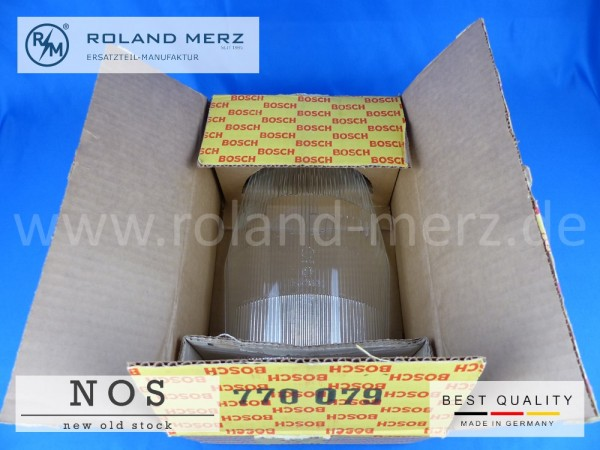 Scheinwerferglas Bosch 1 305 630 020 Mercedes 111 826 01 90 für 220BSb, Seb / Cb / Cp