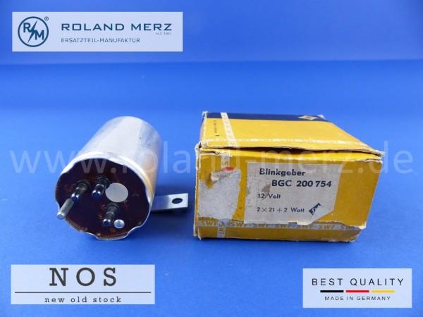 Blinkgeber SWF BGC 200 754 Mercedes 001 544 3932, 12 Volt 2x 21 + 2 Watt, für 280S, 280SE, Cp./Cb, SEL, 300SEL, 6,3