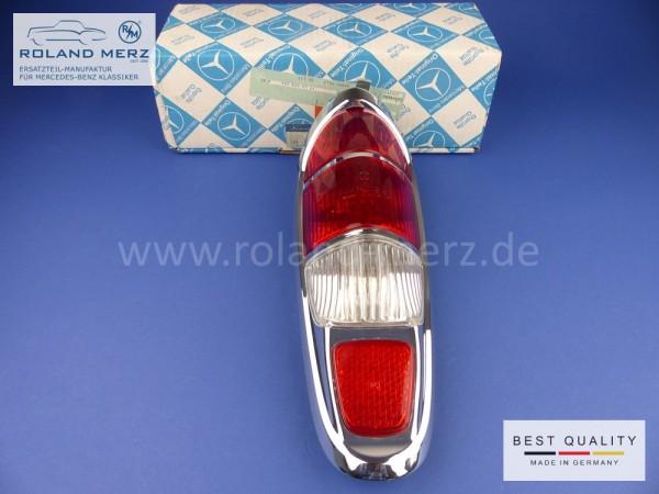 Rückleuchte komplett 180 820 07 64 für Mercedes 220S, SE, Cp, Ca und 300d