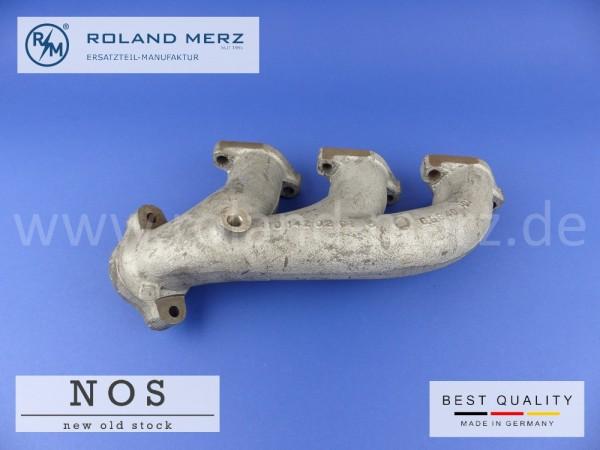 Auspuffkrümmer Mercedes 110 142 02 01 Neuteil NOS Zylinder 4-6 M110, W126 280S, SE, SEL