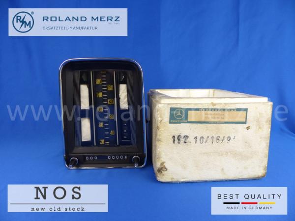 Kombi-Gehäuse mit Tachometer und Kilometeranzeige Mercedes 004 542 96 06 für Mercedes 190c, 200, 230, 230S